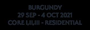 BURGUNDY 29 SEP 2021