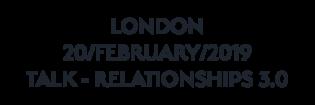LONDON TALK_FEB_2019