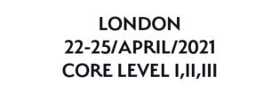 London 22-25 April 2021
